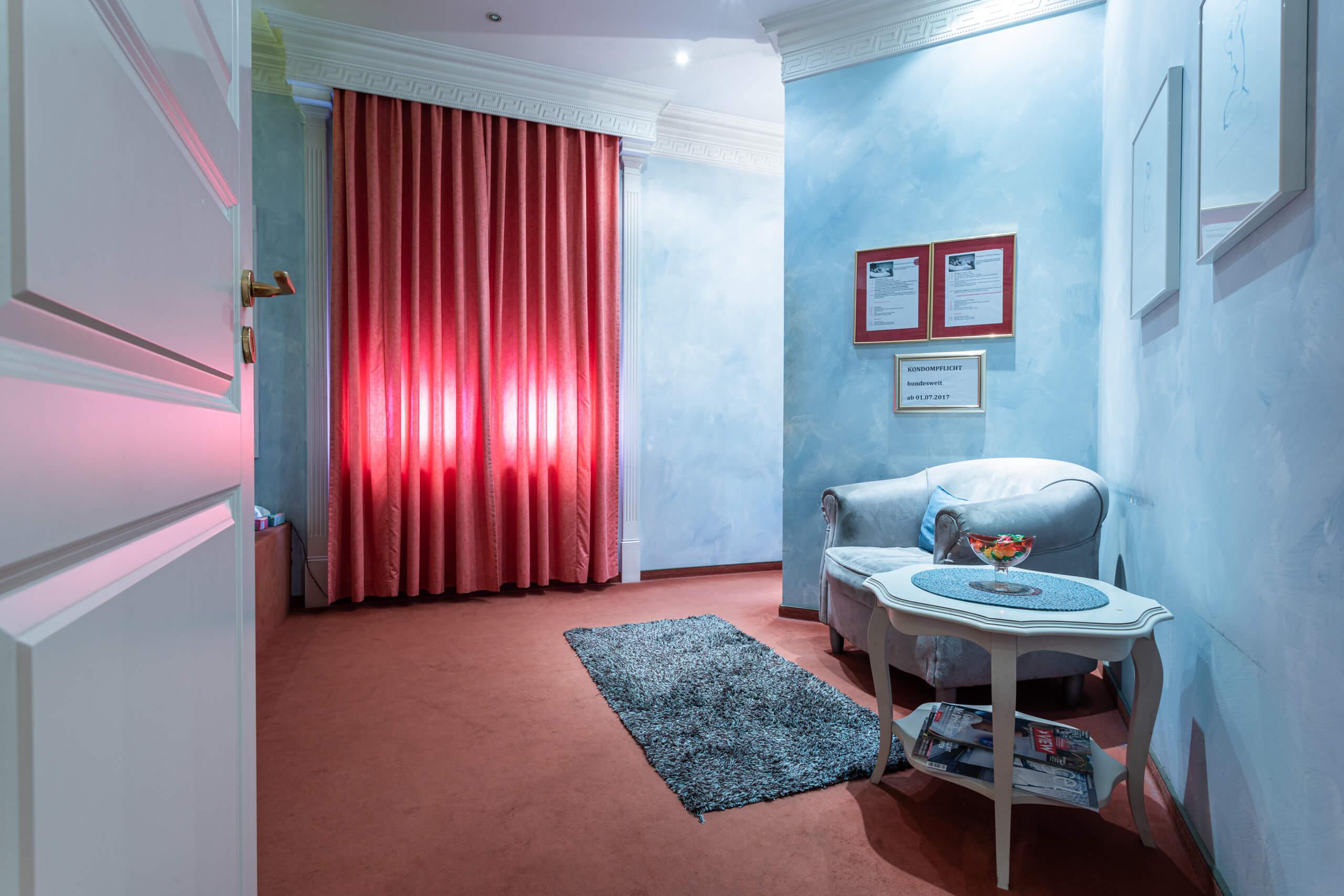 Blauer Salon 01 | Villa Freiburg